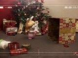 Les Lapins Crétins ! Les lapins crétins fêtent déjà Noël !