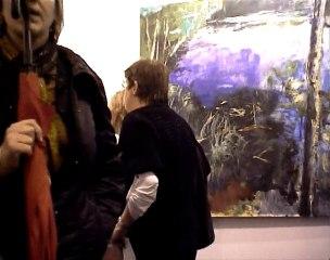 Stand de la galerie à start foire d'art de strasbourg