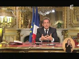 Voeux 2011 de Nicolas Sarkozy