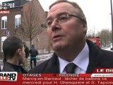 Incendie/Secours Populaire Roubaix: 40 salariés sur le tapis
