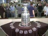 The Stanley Cup visits the Chicago Tribune