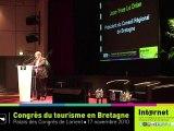 Mr Le Drian - Congrès du Tourisme en Bretagne 2010 partie 1