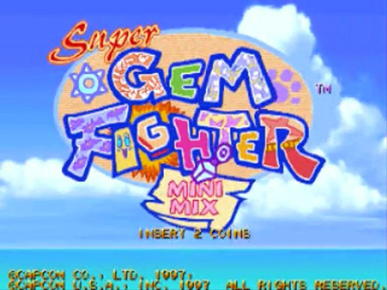 Test de Super Gem Fighter Mini Mix. (Pocket Fighter)