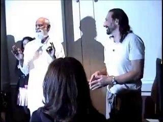 Sr. Prof. G.Balachander and Scientist Nassim Haramein