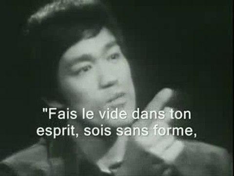 Bruce Lee Interview perdue  ( Sois comme l'eau )