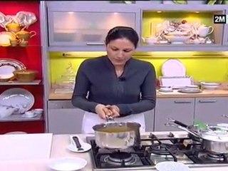 Recette gateau aux poires et mousse au caramel