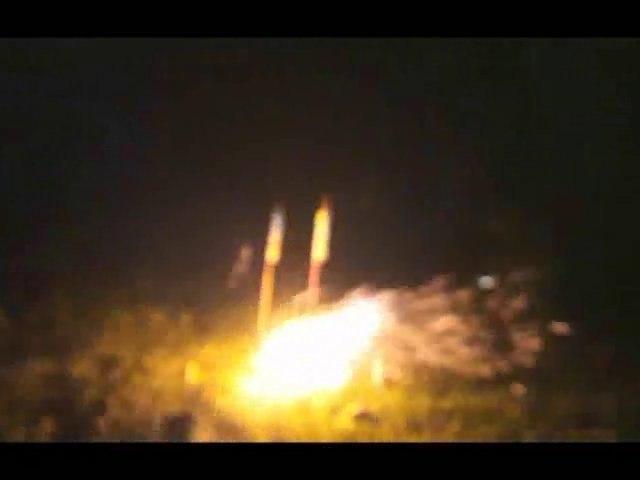 feux d'artifice du nouvel an dans mon jardin ! :D