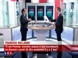 François Hollande invité politique de Christophe Barbier LCI