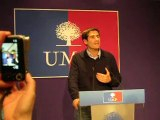 Voeux des Jeunes Populaires 2011 avec Jean-François COPE (1)