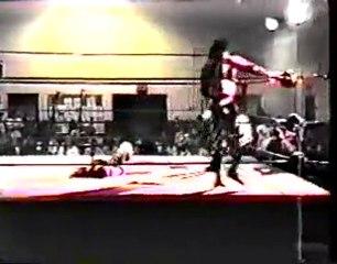 OMEGA - 8.2.97 - Surge (Matt Hardy) vs. The Black Skull