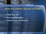 Applying For Planning Permission : What documents should I include in my application?