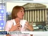 Sandrine Hurel, députée socialiste de Seine-Maritime