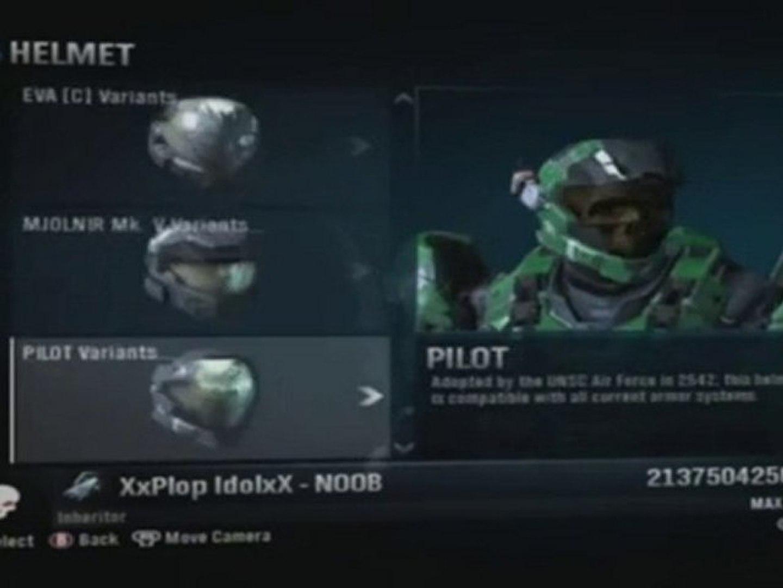 Halo Reach - How to unlock haunted helmet