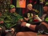 WWE Raw 14/12/09  DX segment for christmas