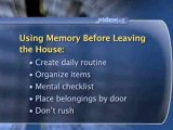 How To Better Remember Personal Items Before Leaving The House : How can I better remember personal items before leaving the house?