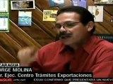 Nicargua consigue aumento de exportaciones