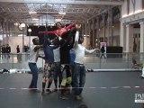 Voltige africaine avec le Cirque Mandingue au CentQuatre!