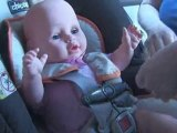 How To Secure Your Infant In A Rear Facing Child Safety Seat : How do I secure my infant in a rear-facing child safety seat?