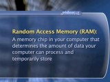 """Computer Memory And Storage : What is """"Random Access Memory"""" (RAM)?"""