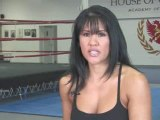 Female Mixed Martial Arts : Why did you decide to compete in mixed martial arts?