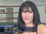 Female Mixed Martial Arts : How are you training for your first MMA bout?