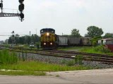 G287 CSX  1249  TRAINS FOSTORIA OHIO