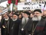 Rassemblement en hommage des Coptes tués - AFP