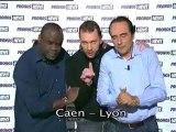 Cpe France - Caen vs Lyon - LE 08/01 - 20H45