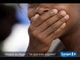 """Otages au Niger : """"Je suis très inquiète"""""""