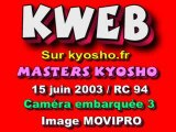 3 cam embarquée TT 1/8 éme Kyosho MP7
