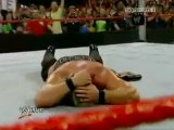 wwe  - John Cena & Randy Orton (RKO + FU) CO-Finishing