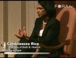 Condoleezza Rice Responds to Accusations of Torture