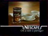 Publicité Café Au Lait De Néscafé 1995