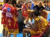 Basket LFB : Pays d'Aix - Nantes (55 à 80)