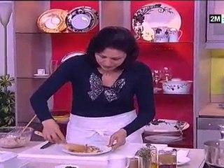 recette de choumicha 2014 - recette facile terrine de poulet et tajine