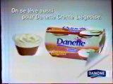Publicité Créme Liegeoise Danette Danone 1998