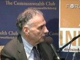 Ralph Nader Hopes for Third Party Shakeup