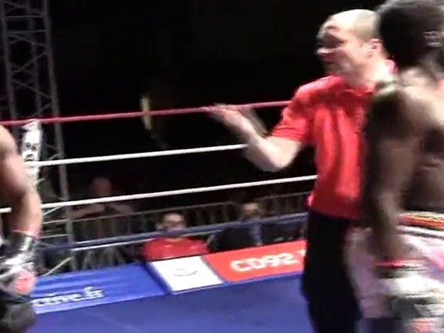 Combat de Boxe Thai de Boubou à Nanterre