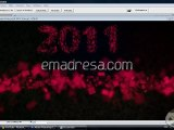 2011 Wallpaper Design in Photoshop with emadresa.com