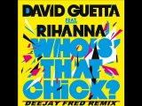 David guetta feat Rihanna - Who's That Chick (Deejay Fred )