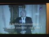 STRAUSS-KAHN - ou le génie du FMI - soutient Ben Ali !