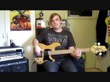 Percussive and Rhythmic Studies for Electric bass lesson 1