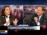 BFMTV 2012 : Cécile Duflot face à Hervé Novelli