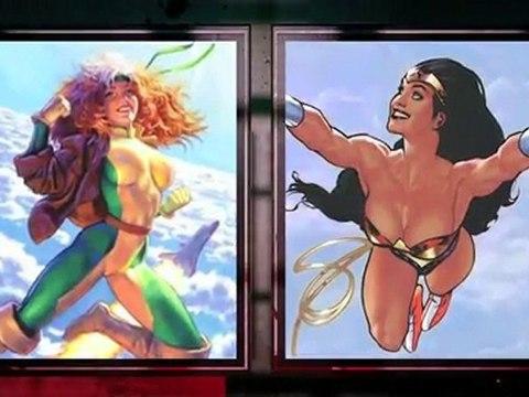 Rogue VS Wonder Woman - Death Battle!