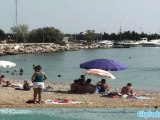 Glyfada beach in Athens of Greece
