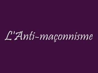LeLibrePenseur / Antigrellou : L'antimaçonnisme