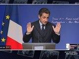 Nicolas Sarkozy confond Alsace et Allemagne (en Alsace)
