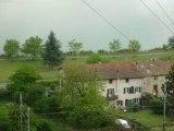 Plateaux à aménager situés à l'entrée de Condrieu