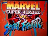 Marvel Super Heroes Vs Street Fighter Saturn
