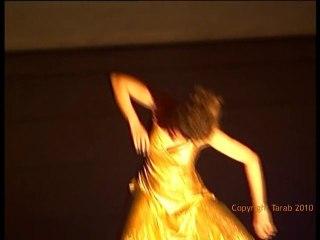 Spectacle de danse théâtrale d'Egypte par l'école Tarab